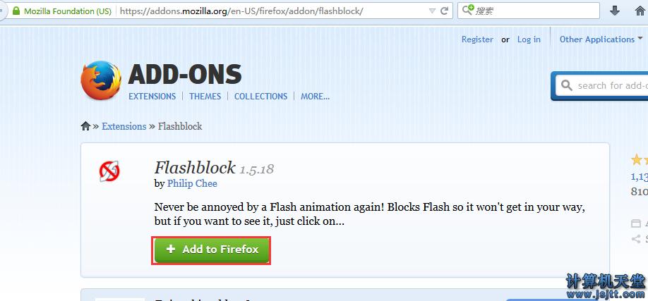 firefox火狐浏览器设置flash视频点击播放_禁止视频自动播放1