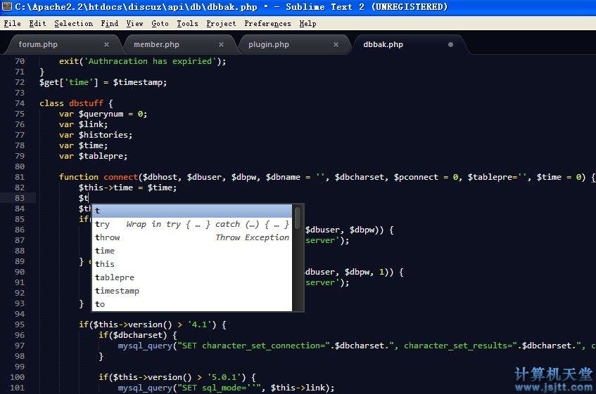Sublime Text 2.0下载 高效最好用的程序猿代码编辑器